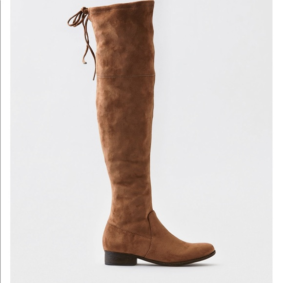 4723384a4b0 American Eagle Outfitters Shoes - over the knee suede boots